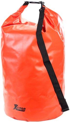 Xcase Wasserdichte Beutel: Wasserdichter Packsack 70 Liter, rot (Outdoor Packsack)