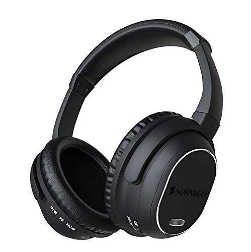 Kinen HiFi-Kopfhörer Geräuschkutze Kopfhörer, Bluetooth Wireless Over-Ear Kopfhörer ANC Foldable Hi-Fi Stereo, Super Light Mit Plug Für Smart Phone PC PS4 Und Alle Bluetooth-Geräte