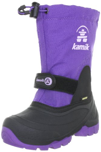 Kamik Gore-Tex NK8237, Bottes mixte enfant Violet-TR-H2-9