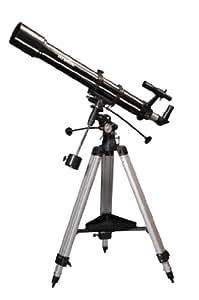 Skywatcher Evostar-90 (EQ-2) (90mm (3,5 Zoll), f/900) Refraktor Teleskop silber