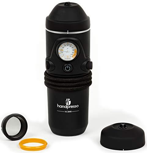 Handpresso Auto 48261 12V tragbare Espressomaschine für ESE-Pads oder gemahlener Kaffee für das Auto - Lösungen Parallel-port