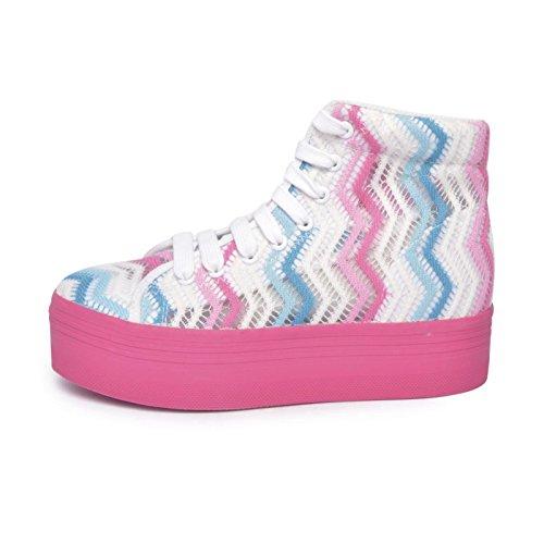 JEFFREY CAMPBELL PLAY 1, scarpe da donna, 38, multi-colored