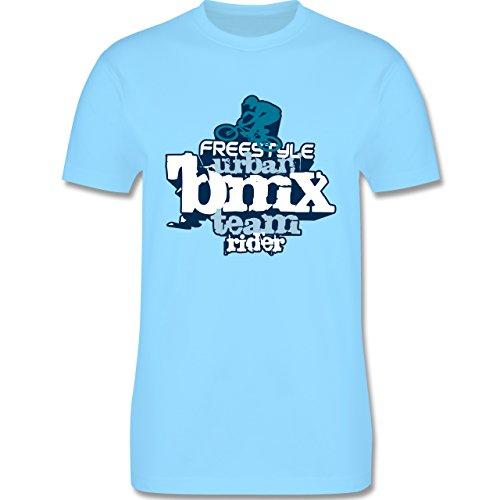 Radsport - BMX - Herren Premium T-Shirt Hellblau