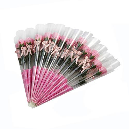Weiye - 38 pcs jabón rosa flores - flora