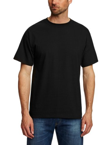 hanes-classic-beefy-mens-t-shirt-black-large