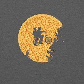 Planet Nerd - Moon Waffles - Herren Kapuzenpullover Grau