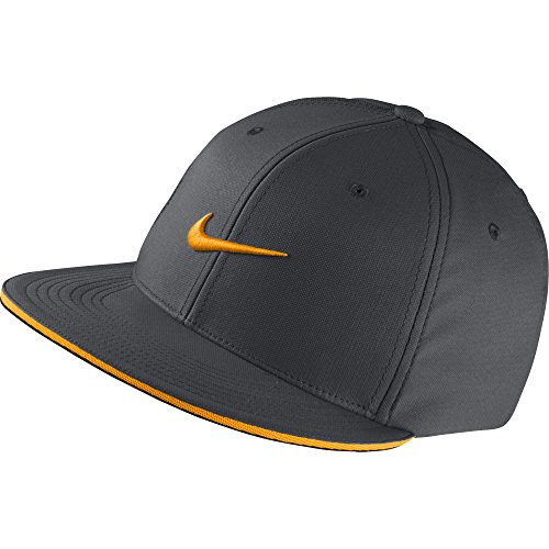Two Tone Fitted Cap (True Statement Twotone Cap Fullcap Fitted Flatbrim Kappe Sportcap Tenniscap Nike Basecap Cap (One Size - orange))