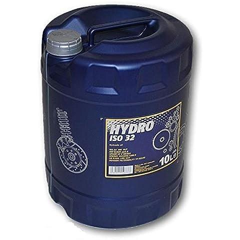 Olio idraulico MANNOL Idro HV ISO HLP 32 Da 10 Litri