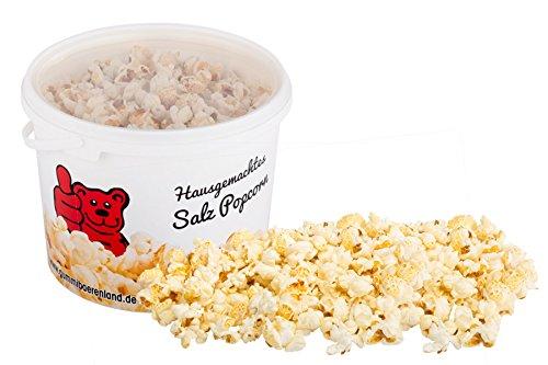 Popcorn-Eimer, Salz, frisches und leckeres Popcorn leicht gesalzen, 140g im Eimer