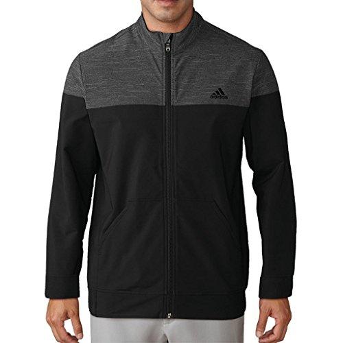 adidas Herren Jacke Gr. L, Schwarz / Erika (Track Jacket Adidas-männer)