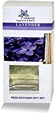 Limerick Home Premium Fragrance of Lavender Reed Diffuser 100 ml Oil for Your Room, Bathroom and Home Decoration.
