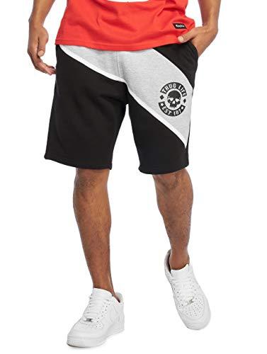 Thug Life Herren Shorts Lion schwarz L