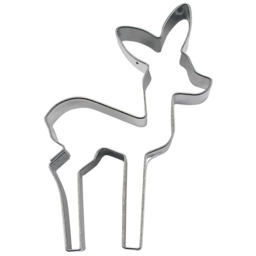 StÀdter Cookie Cutter 6 cm Stainless Steel (Divertimento Cookie Cutters)