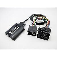 BMW Bluetooth CD cambiador AUX adaptador soporte iPhone Android MP3 USB carga para BMW Redondo 17 Pin X5 X3 E46 E39 E36