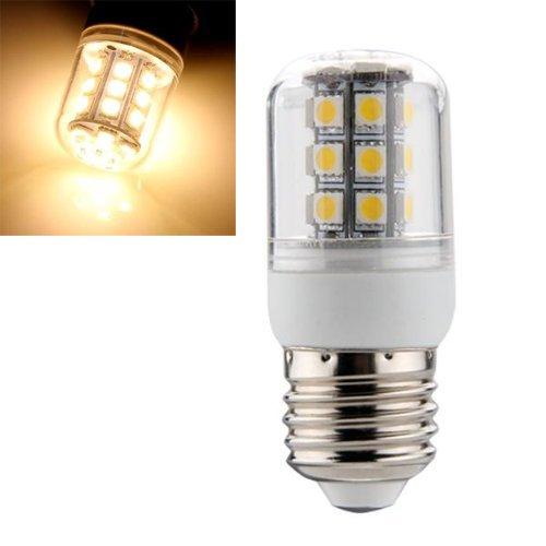 Sonline E27 5W 27 LED 5050 SMD Ampoule Lampe Spot Mais Light Blanc Chaud 3000K 240LM