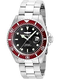 Invicta 22020 Pro Diver Reloj para Hombre acero inoxidable Cuarzo Esfera negro