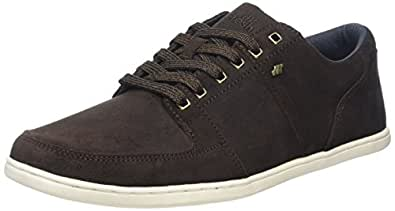 Boxfresh Spencer SH Wxdsde, Baskets Basses Homme, Marron (DK Brown/Navy), 46 EU