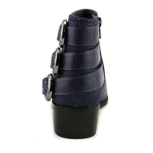 Aldo Marentette Spitz Leder Mode-Stiefeletten Blue