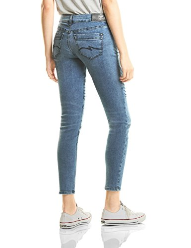 Street One Damen Slim Jeans 370952 Raja Blau (Authentic Blue Stone Washed 11076)
