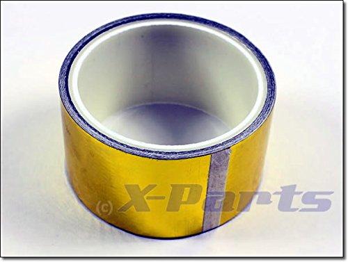 X-Parts GOLD Hitzeschutz Klebeband 50mm 4,5m Reflektierend Hitzeabweisend