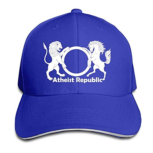 ASKYE Atheist Republic Symbol Adjustable Baseball Hat Dad Hats Trucker Hat Sandwich Visor Cap