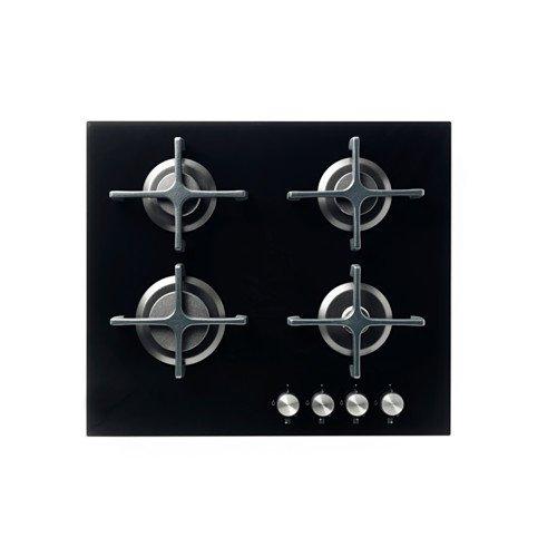 IKEA-LIVSGNISTA-Hornillo-de-gas-negro-de-cristal