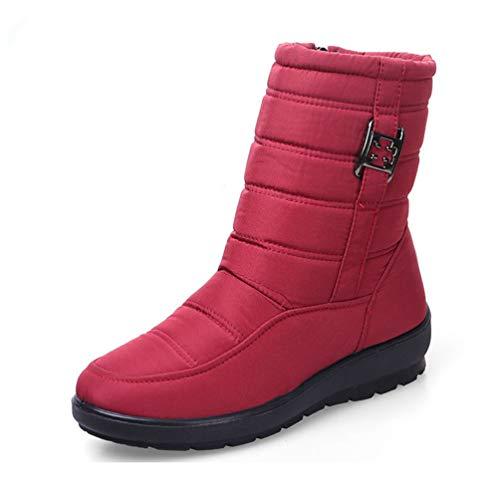 Frauen Winterstift Mutter schießt Antiskid wasserdicht Flexible Frauen Fashion Casual Snow Boots