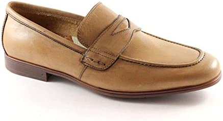 LEÓN 20685 cáñamo mocasines zapatos de cuero del hombre antiestático