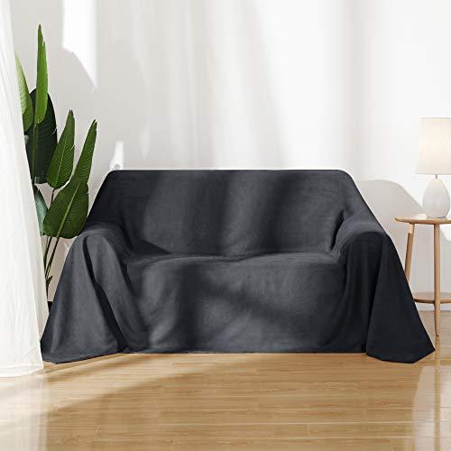 Amazon Marke: Umi.Essentials Sofa Überwurf Wildleder gebraucht kaufen  Wird an jeden Ort in Deutschland