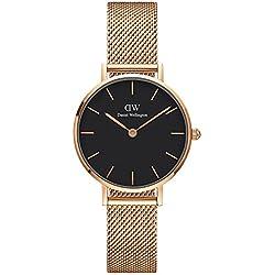 Daniel Wellington Classic Petite Geschenkset Melrose Reloj de Quartz + brazalete oro rosá