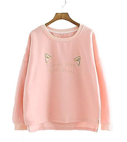 LemonGirl - Sweat-shirt - Femme - rose - Large/44-46