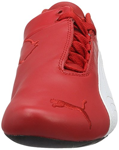 Puma Unisex-Erwachsene SF Future Cat OG Low-Top Rot (rosso corsa-puma white-puma black 01)