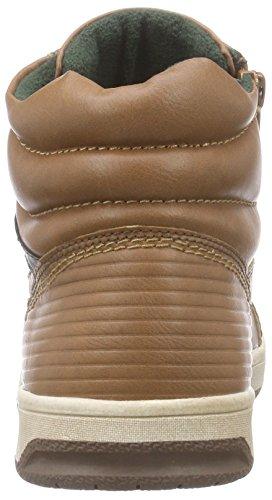 s.Oliver 46102, Sneaker alta Ragazzo Marrone (Braun (Cognac 305))