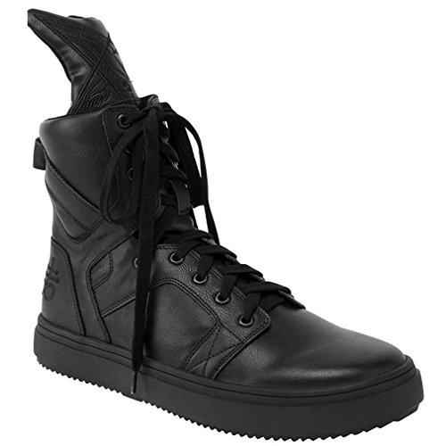Killstar - Zapatillas de Sintético para Hombre Negro Negro One Size, Color Negro, Talla 38 EU