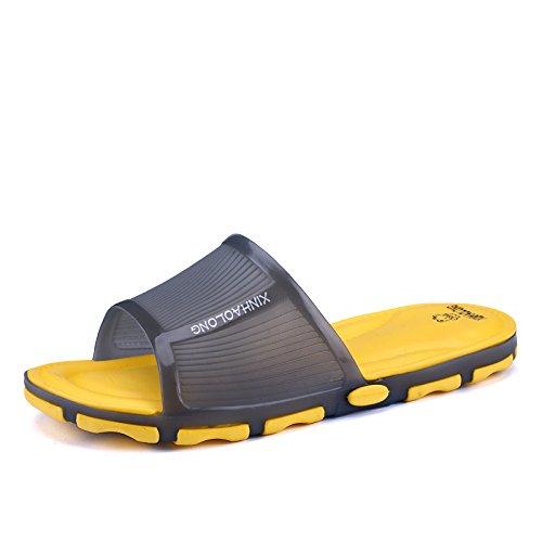 Men's pantoufles, chaussons, salle de bains, Chaussons chaussons de plage yellow