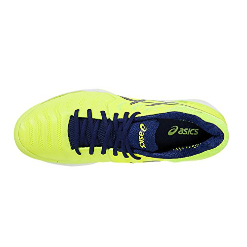 Uomo 7 Aveva Nero Giallo risoluzione 7 Gel Scarpe Tennis Da Asics AR4wqXxE4