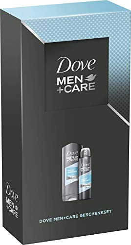 Dove MEN+CARE Geschenkset Clean Comfort (Deospray 150 ml + Pflegedusche 250 ml)