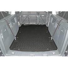 ab 2008 EXKLUSIV Kofferraumwanne Kofferraummatte VW Caddy Life Maxi 7 Sitze Bj