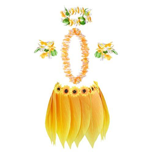 Der Gouverneur Kostüm - Amosfun Hawaii tropischen Hula Rock Luau