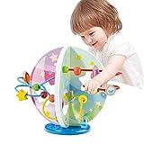 Baobë- Giochi in Legno per Bambini Labirinto Roller Coaster con Piccolo Gioco Perline Giochi Educativi&Giocattolo educativo di Legno,ordinamento e impilamento Giocattoli ,Regalo di Compleanno