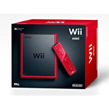 Nintendo Wii - Consola Mini, Color Rojo