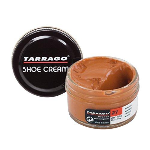 Tarrago Shoe Cream Jar 50 ml - Crema tinta para zapatos y bolsos, unisex, adulto, Mango (Mango 27), 50 ml