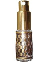 Flakon 10ml Lani mit goldenen Rauten als Verzierung + 1 Glasbeutel