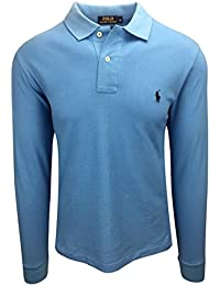 Ralph Lauren Polo Homme Manches Longues Petit Pony Custom Fit S-M-L-XL-XXL  Outlet a00a9fe57019