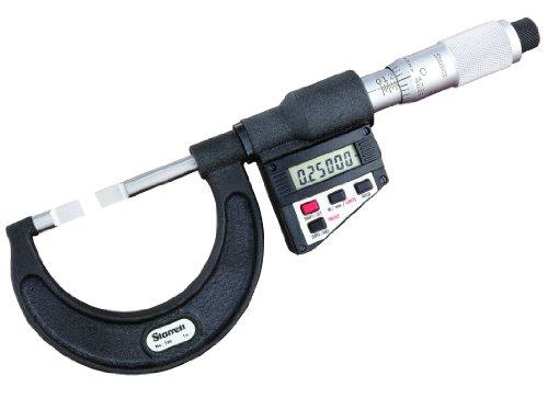 Starrett 786p-3LCD Blade-type Micromètre, absence Spindle, UNI Dé à Coudre, 2–7,6cm Range, 0cm Graduation