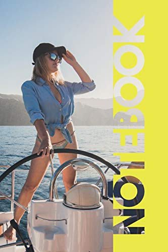 Notebook: Yacht Rentals Elegant Compostion Book for Caribbean Cruise Adventure Journal