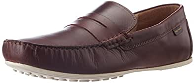Red Tape Men's Maroon Leather Loafers - 8 UK/India (42 EU)