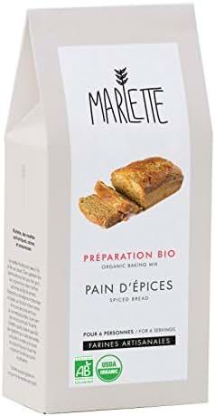 Marlette Préparation Bio pour Pain d'Épices 350 g