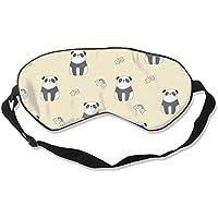 Natural Silk Eyes Mask Sleep Cute Panda Blindfold Eyeshade with Adjustable for Travel,Nap,Meditation,Sleeping,... preisvergleich bei billige-tabletten.eu