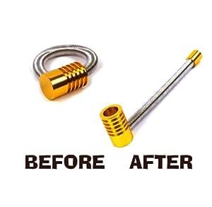 Twist and Turn Aluminium Secret Pipe - Large